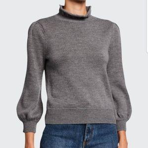 CO Essentials Black Wool Turtleneck Sweater